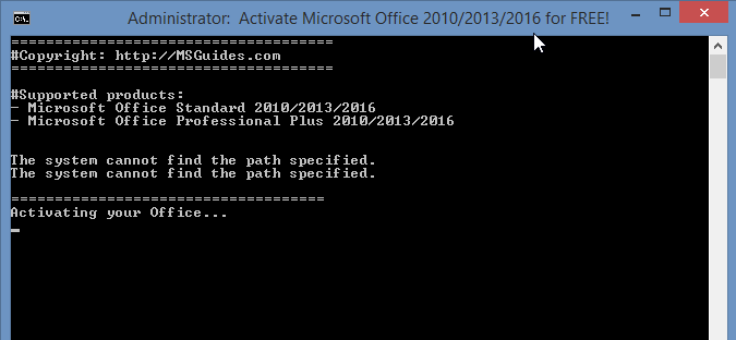 How To Activate Office 2016 Without Product Key Free